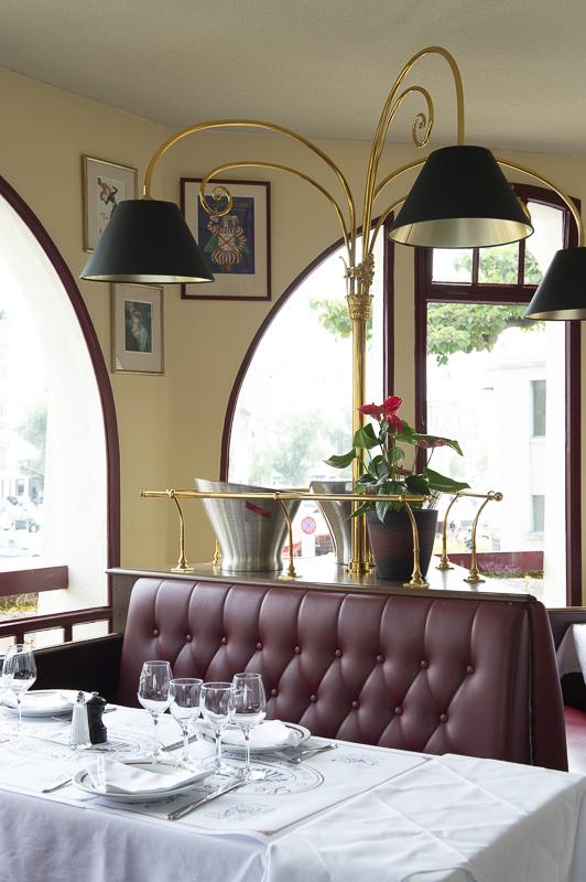 Brasserie du Boulingrin restaurant intérieur
