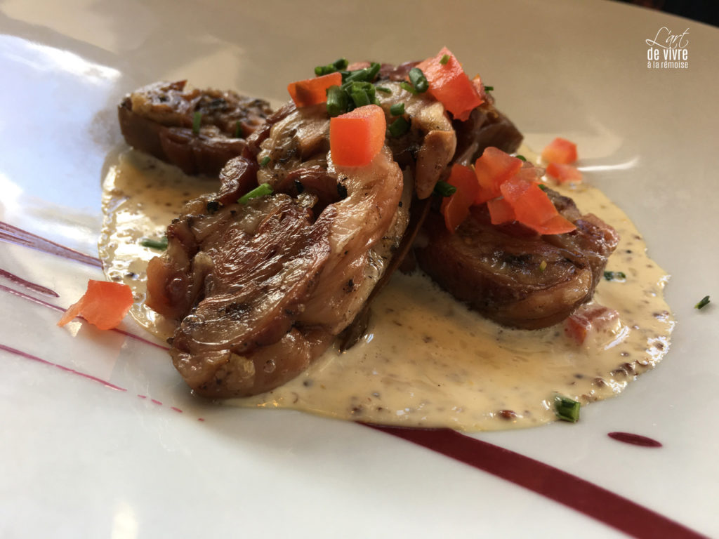 Brasserie du Boulingrin plat viande légumes sauce