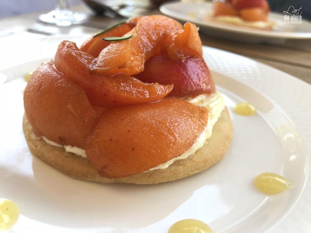 Brasserie du Boulingrin dessert tartelette fruits